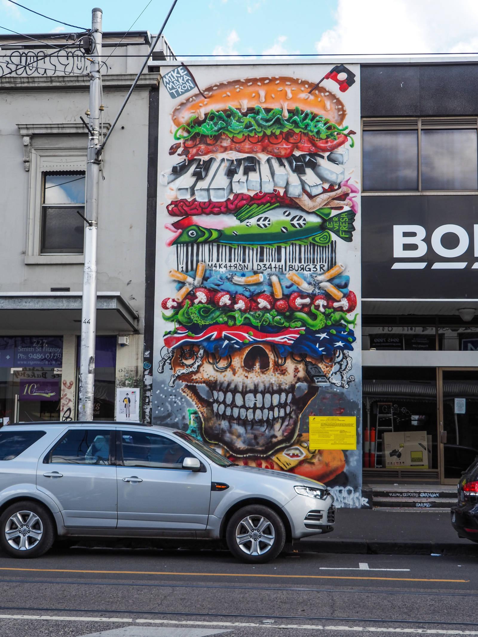 Melbourne Tag Burger