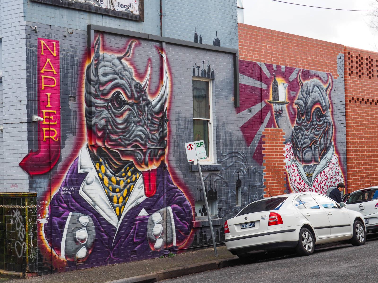 Melbourne Tag Rhinos
