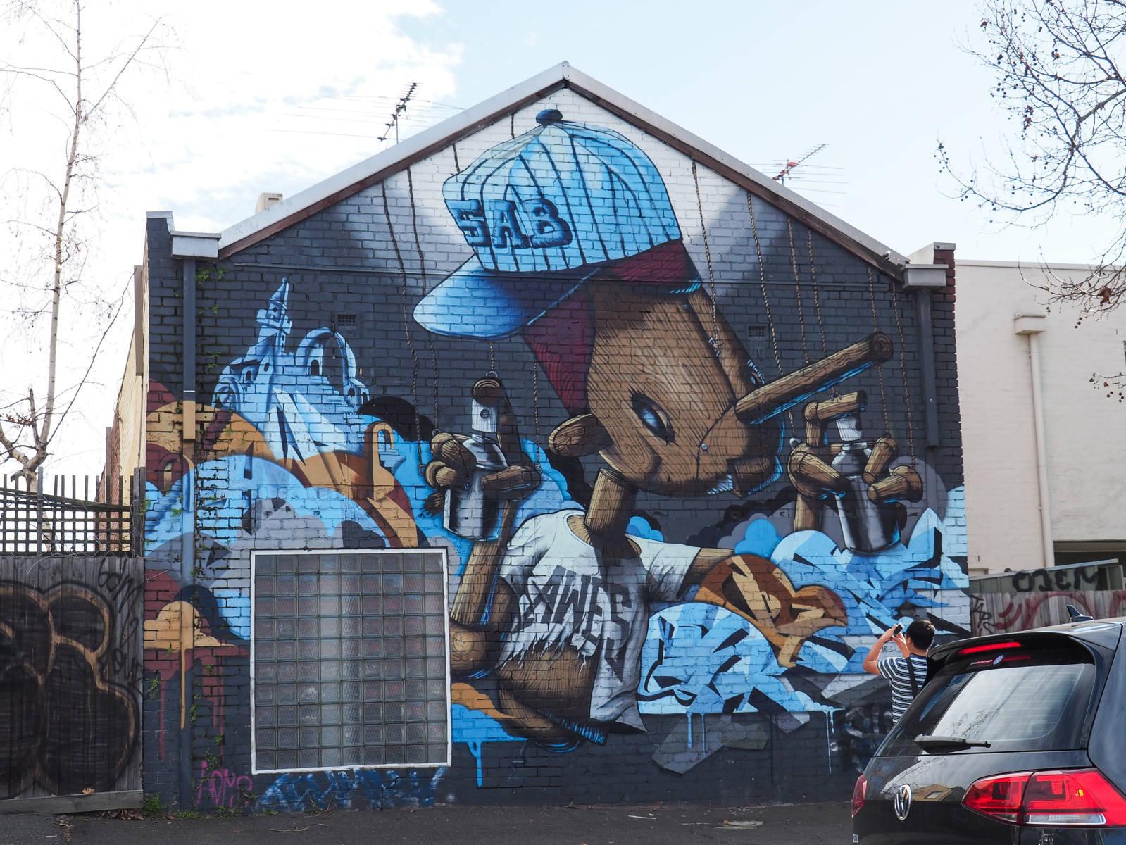 Melbourne Tag Pinocchio