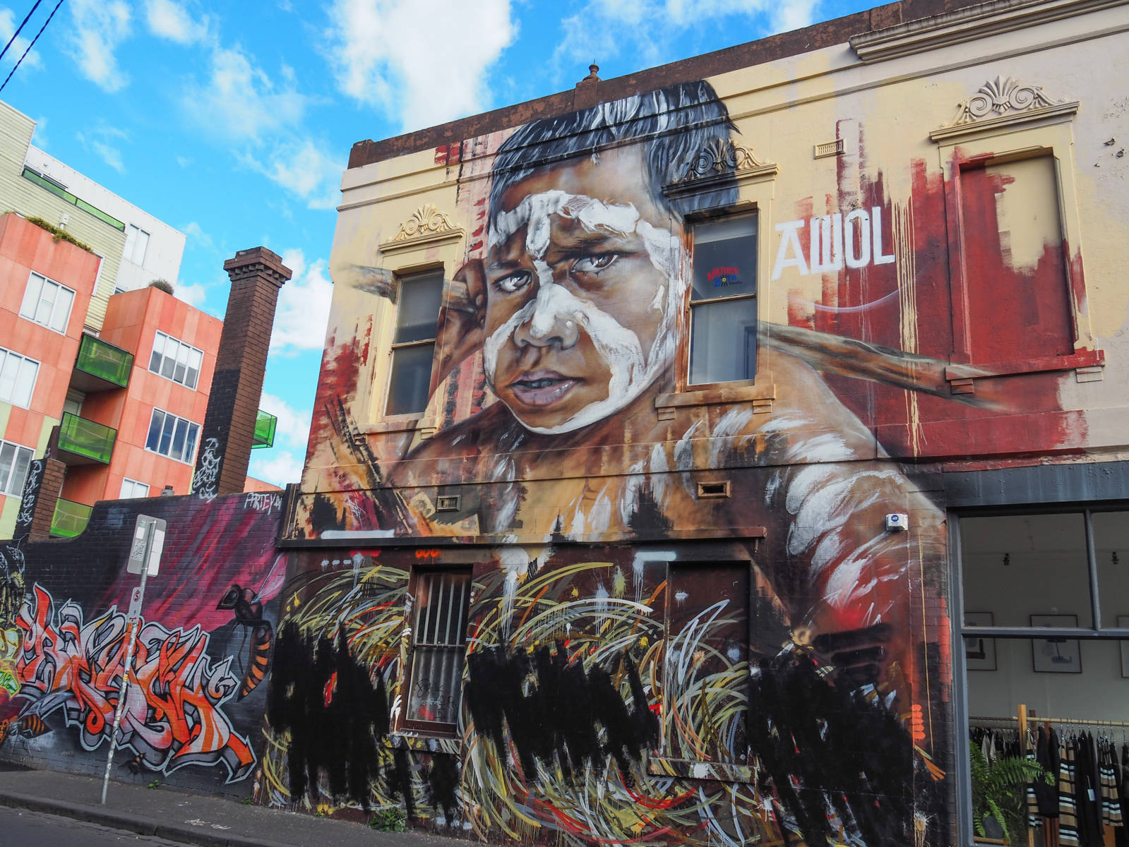 Melbourne Tag Peace