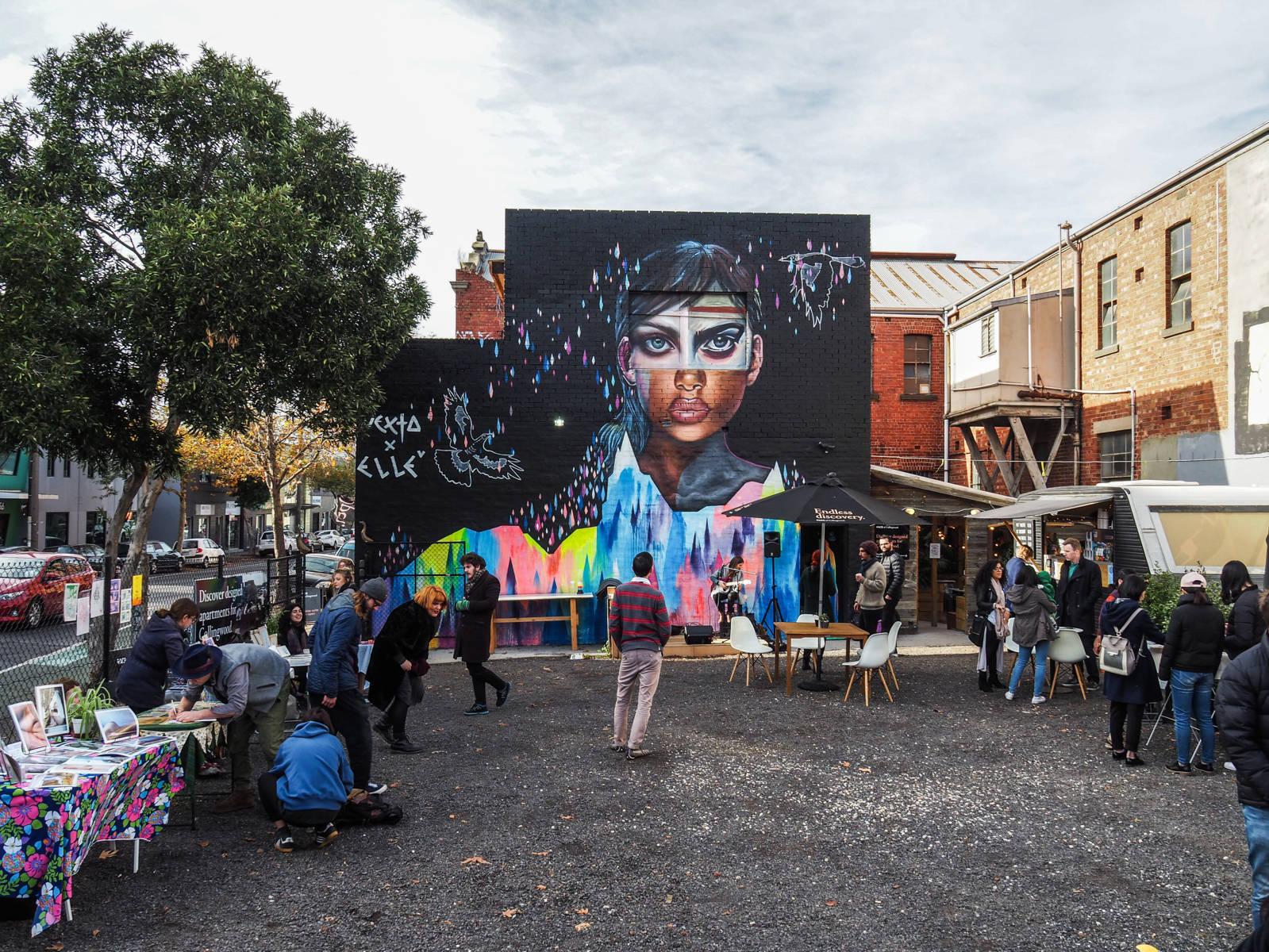 Melbourne tag market
