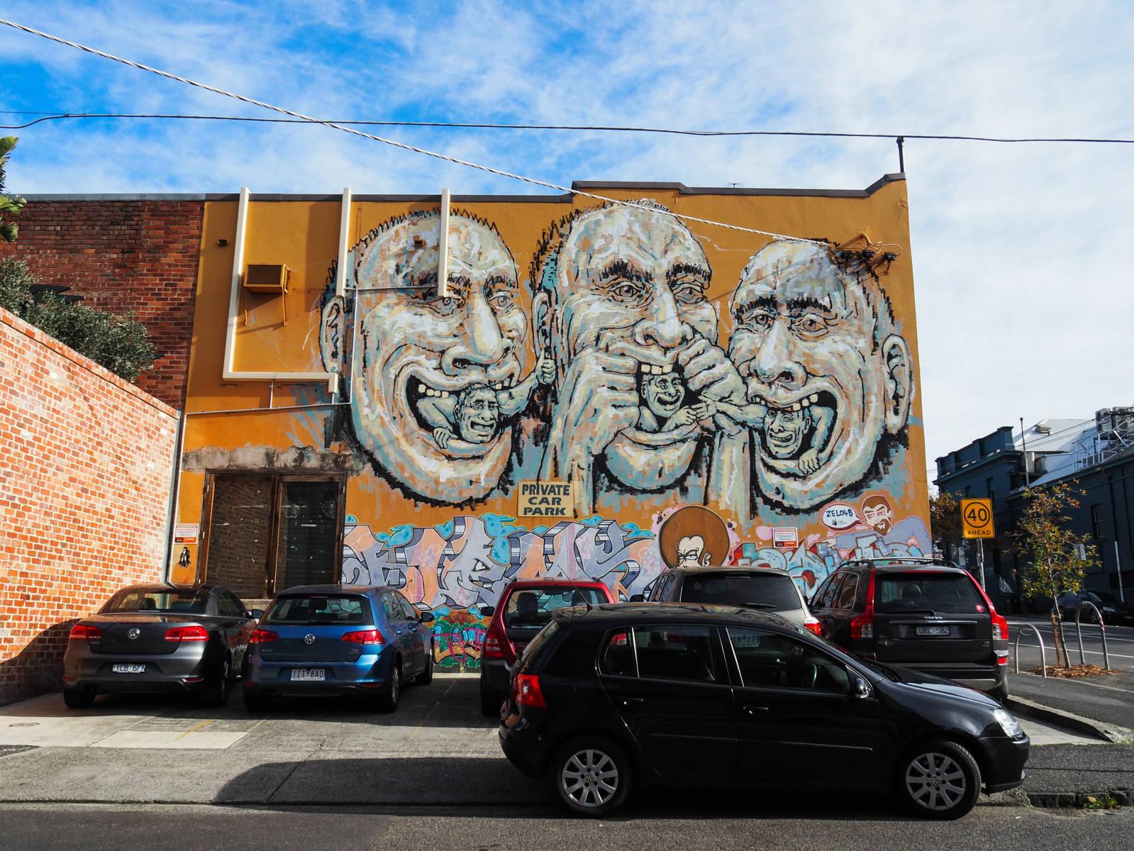 Melbourne Tag Faces